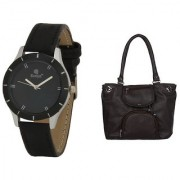 Evelyn Wrist Watch With hand Purse-LBBR-272-012