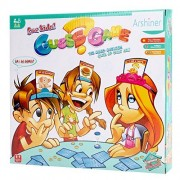 Arshiner Toddler Kids Guessing Card Games What Am I Party Family Board Game 50 PCS
