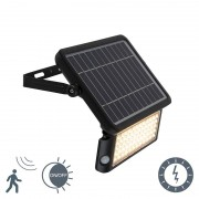Shada Proiettore solare a LED con sensore movimento e crepuscolare - TEHO