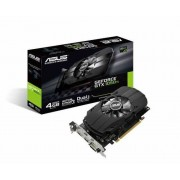 VGA Asus PH-GTX1050TI-4G, nVidia GeForce GTX 1050 Ti, 4GB 128-bit GDDR5, do 1392MHz, DP, DVI-D, HDMI, 36mj