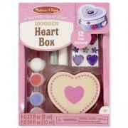 Креативен комплект - Направи си сам кутия сърце, 18850 Melissa and Doug, 000772188500