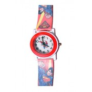 Colorful Kids Wrist Watch (Colors May Vary) (Superman)
