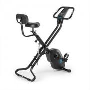 CAPITAL SPORTS AZURA X2 X-Bike, bicicletă, până în 120 kg, rata de măsurare, rabatabil, 4 kg, negru (FIT17-Azura X2)