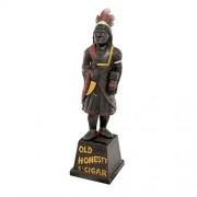 Design Toscano Cigar Store Indian Foundry Iron Folk Art Bank, Sencillo, nica, 1