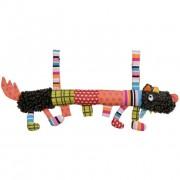 Детская развивающая мягкая игрушка Ebulobo такса Сосиска Волчонок L