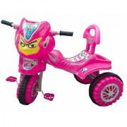Oh Baby Baby Angry Bird Mask With Color Wheel Pink Musical Tricycle For Your Kids DHK-RYI-SE-TC-09