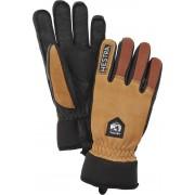 Hestra Army Leather Ull Handske Brun Herr