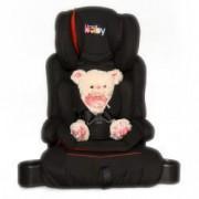 Scaun auto Kota Baby ISOFIX Extra Safe Negru/Rosu 9-36kg + Ursulet Plus 35cm Cadou