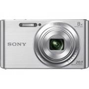 Sony Máquina Fotográfica Compacta DSC W830 (Prateado - 20.1 MP - ISO: 80 a 3200 - Zoom Ótico: 8x)