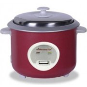 Butterfly STREAK 2.8 L CHERRY RED Electric Rice Cooker(2.8 L, CHERRY RED)