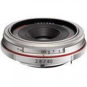 Pentax 40mm F/2.8 Hd Da Limited - Argento - 2 Anni Di Garanzia