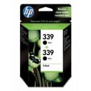 HP C9504EE»3 HP Pack de ahorro de 2 cartuchos de tinta original 339 negro
