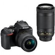 Nikon D5600 with AFP 18-55mm 70-300mm VR Lens DSLR Camera