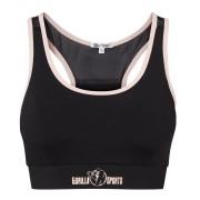 Gorilla Sports Sport BH Dames Zwart / Roze M