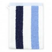Linnea Gant de toilette 16x21 cm 100% coton 480 g/m2 CLASSIC STRIPES Bleu