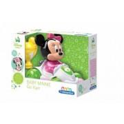 Masinuta De Curse Minnie Mouse care merge inainte si inapoi cu cupa