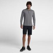 Мужская рубашка-поло с длинным рукавом для гольфа Nike Dri-FIT