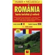 Romania. Harta turistica si rutiera/***