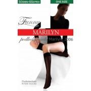 Marilyn - Opaque microfiber knee highs Funny 50 DEN