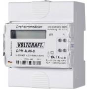 Contor curent trifazic cu montare pe şină DIN Voltcraft DPM 3L85-D