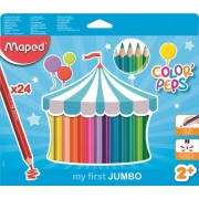 CREIOANE COLORATE COLOR'PEPS MY FIRST JUMBO 24 CULORI/SET MAPED (834013)