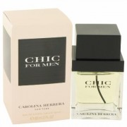 Chic For Men By Carolina Herrera Eau De Toilette Spray 2 Oz