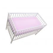 MamaKiddies Sofie Dreams gumis lepedő pink színben 120x60