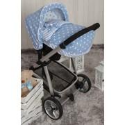 Saco Porta bebé Carrusel azul. CAPOTA NO INCLUIDA
