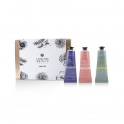 Crabtree & Evelyn Floral Hand Therapy Trio (1x Pear & Pink Magnolia, 1x Rosewater & Pink Peppercorn, 1x Lavender & Espresso) 3x25ml