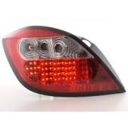 FK-Automotive fanale posteriore a LED per Opel Astra 5 porte (tipo H) anno di costr. 04-, chiaro/rosso