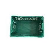 Socepi Cassa in plastica per olive capacità 40 litri colore verde - tipologia Semi-chiusa