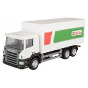 Rmz City Car 1:64 Scania - Castrol Container Truck, White