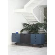 Consola madera y metal