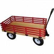 Millside Industries Garden Wagon - 600-lb. Capacity, 48 Inch L x 24 Inch W, , Model HD, Red