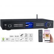 VR-Radio WLAN-HiFi-Tuner mit Internetradio, DAB+, UKW, Streaming, MP3, schwarz