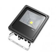 G21 LED reflektor, LED Bridgelux, Meanwell forrás, fogyasztás 10W, melegfehér - fekete