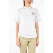 Calvin Klein 205W39NYC t-shirt scollatura a v sulla schiena taglia Xs