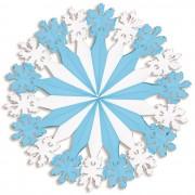 Merkloos Decoratie sneeuwvlok