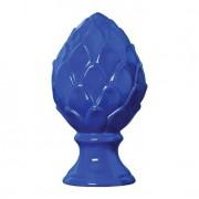 Enfeite de Mesa Pinha G Azul 17x33 cm Mazzotti
