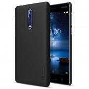 Capa Nillkin Super Frosted Shield para Nokia 8 - Preto