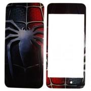 Folie protectie cu design iPhone 5 - Paianjen ( fata + spate )