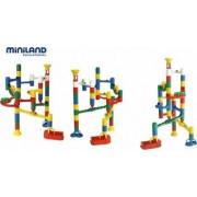Labirint cu bile Miniland 36 piese