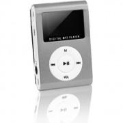 MP3 z LCD + słuchawki SETTY argintiu - GSM014535