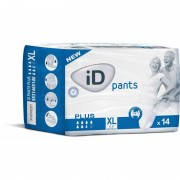 Ontex - ID Pants Pack de 4 sachets de ID Pants XL Plus