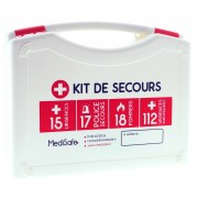 MediSafe Valise de secours Rugby FIRST