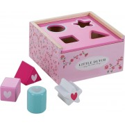 Little Dutch Houten Vormenstoof Pink Blossom