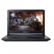 "Лаптоп Acer Predator Helios 500 PH517-51-95PJ(NH.Q3PEX.003), шестядрен Coffee Lake Intel Core i9-8950HK 2.9/4.8GHz, 17.3"" (43.94 cm) Full HD IPS дисплей & GeForce GTX 1070 8GB(DP), 32GB DDR4, 2TB HDD & 512GB SSD, 1x USB Type-C, Windows 10 Home, 4kg"