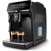 Philips Автоматична еспресо машина 2200 series 4 напитки, Приставка Classic за разпенване, Сензорен дисплей, цвят Черно