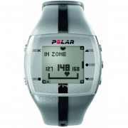Reloj Polar FT4 Monitor Del Ritmo Cardíaco Plateado