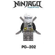 Generic Masters of Spinjitzu Sensei Wu Compatible LegoINGly NinjagoINGlys Sets Ninja Heroes Weapons Toys for Children Building Blocks 202